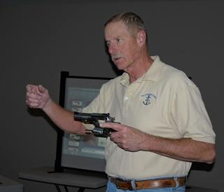Dan teaches basic pistol